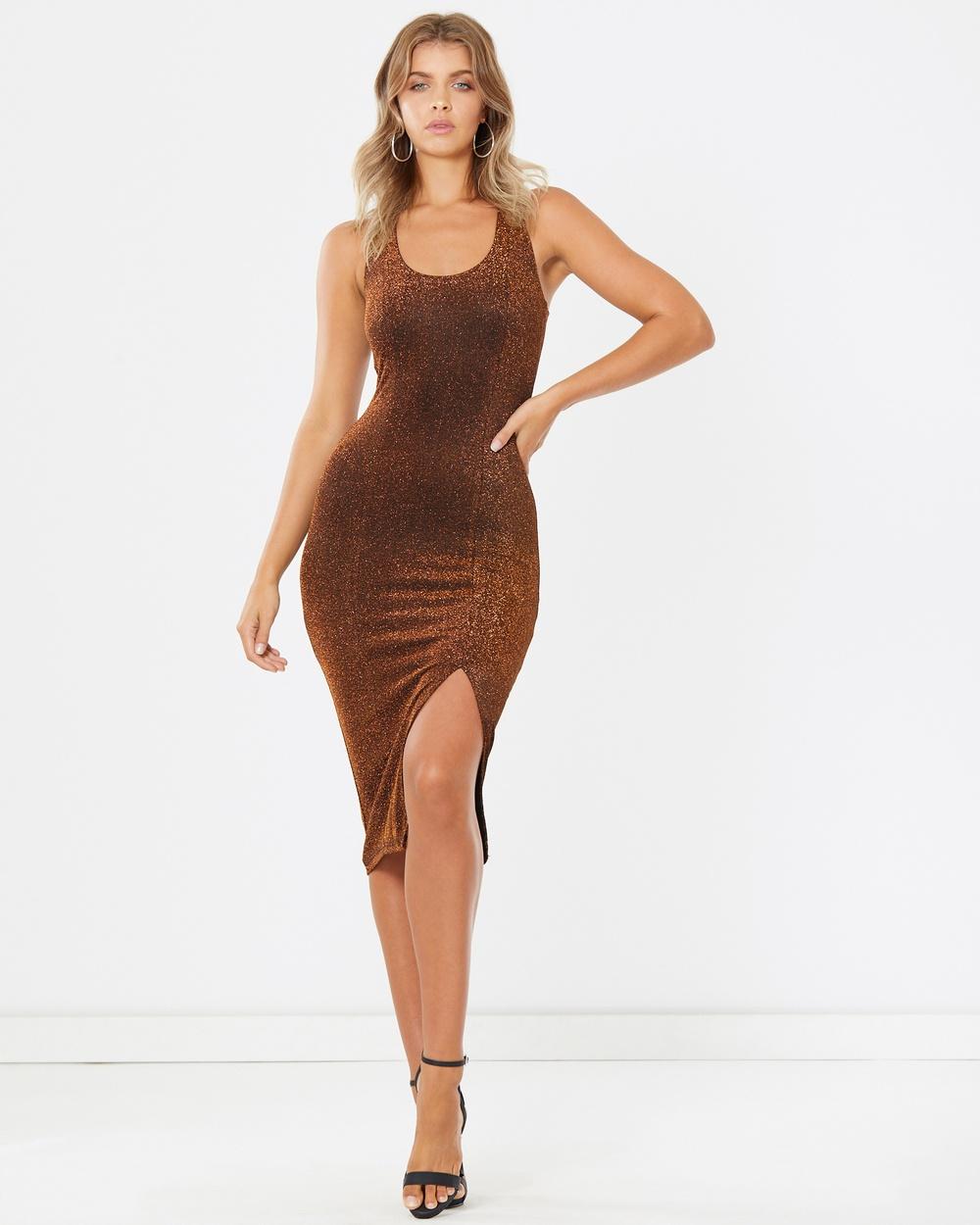 Calli Valena Dress Dresses Gold Valena Dress