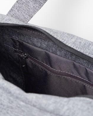Nike Gym Club Bag   Women's - Duffle Bags (Grey white)