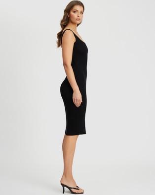 Tussah - Carolina Knit Dress - Bodycon Dresses (Black) Carolina Knit Dress