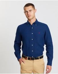 Polo Ralph Lauren - Long Sleeve Linen Sport Shirt