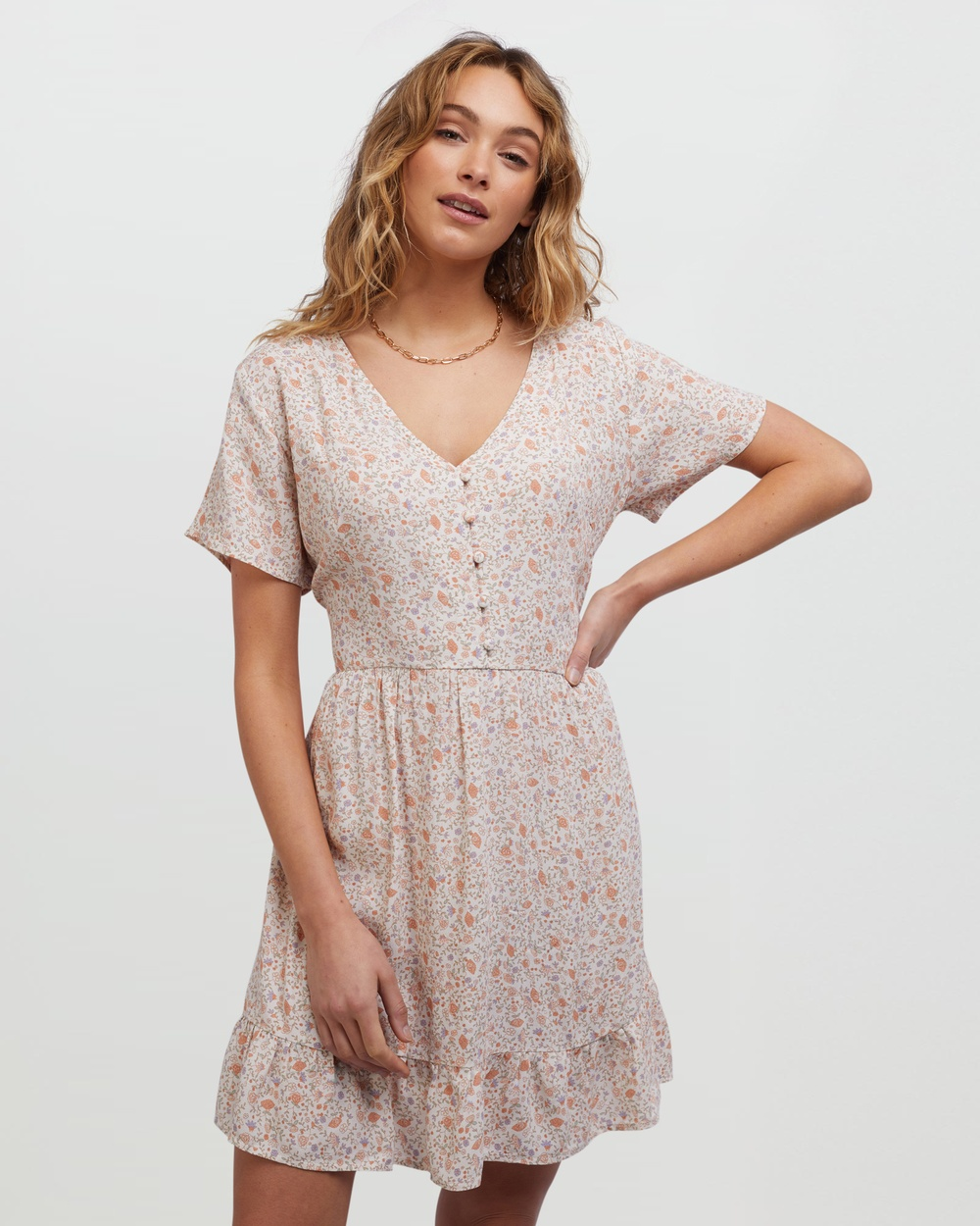 All About Eve Ivy Dress Dresses Multicoloured