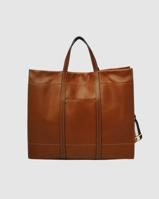 Fossil Carmen Tote Bag  - Bags (Brown)