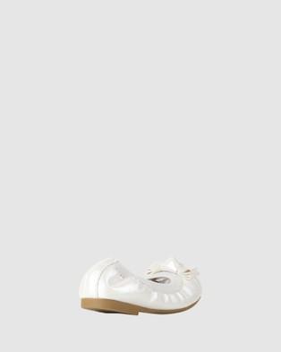 Candy Charm Ballet Flats - Flats (Pearl)