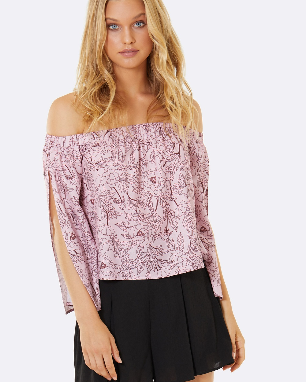 Calli Lulu Top Tops Blush Blooms Lulu Top
