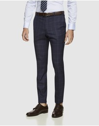 Oxford - Hopkins Wool Checked Trousers