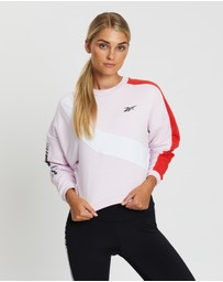 Reebok Performance - Meet You There Colour-Blocked Crew