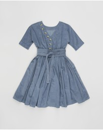 Feather Drum - Layne Dress - Kids