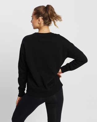 New Balance Fleece Crew - Crew Necks (Black)