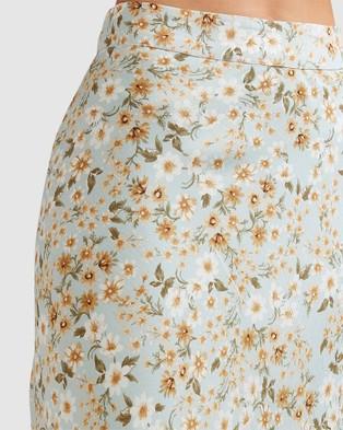 Billabong Del Mar Midi Skirt - Skirts (PASTEL BLUE)