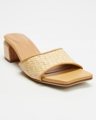 JAMES   SMITH Cremona Midi - Mid-low heels (Woven Woven)