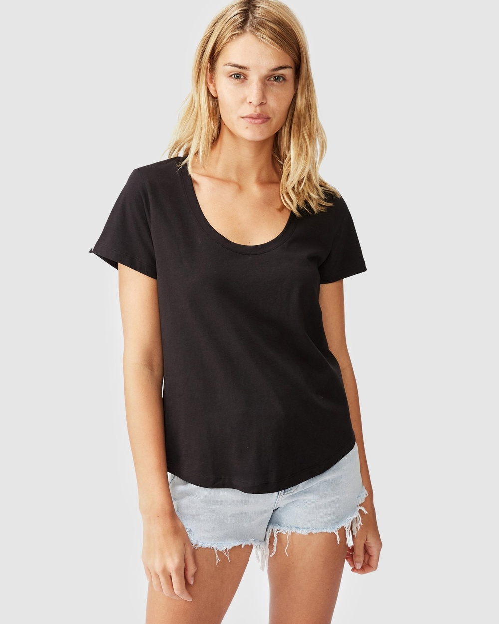 Cotton On - The One Scoop Tee - T-Shirts & Singlets (Black) The One Scoop Tee