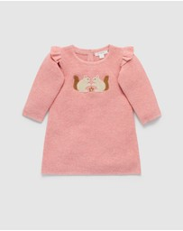 Purebaby - Squirrel Dress - Babies
