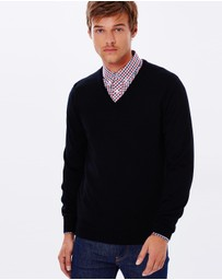 Ben Sherman - Merino V-Neck Sweater