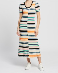 Kenzo - Body-Con Stripes Dress