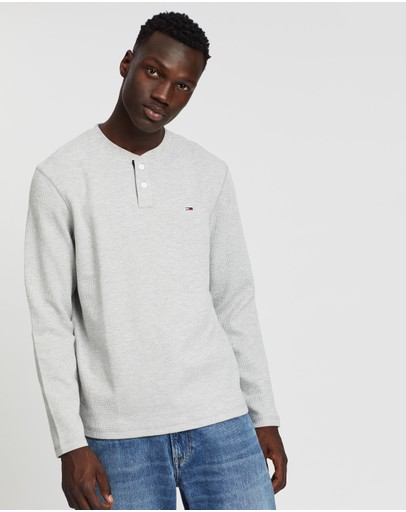 Tommy Jeans - Waffle Henley Tee