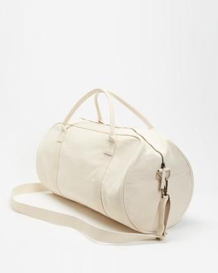 AERE Organic Canvas Weekender - Duffle Bags (Natural)