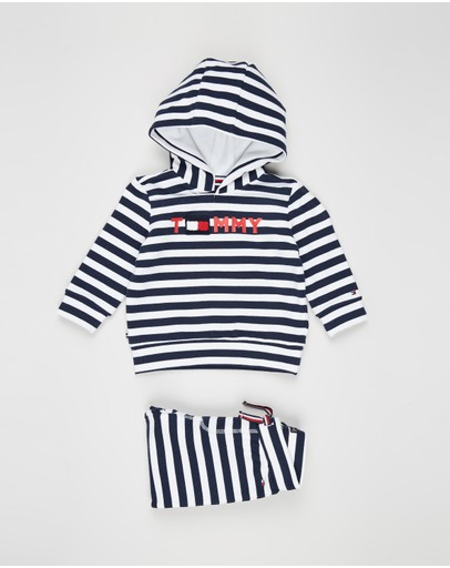 Tommy Hilfiger - Striped Hoodie Set - Babies
