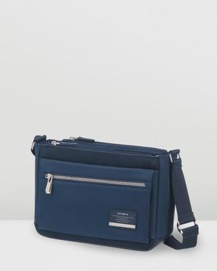 Samsonite Open Road Chic Horizontal Shoulder Bag - Handbags (Midnight Blue)