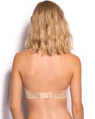 Bras N Things Body Bliss Strapless Push Up Bra - Strapless Bras (Nude)