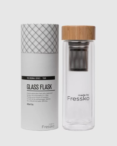Tour 400ml Insulated Glass Flask