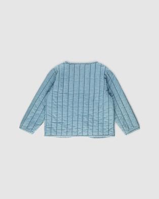 Lil Atelier - Ingrid Denim Jacket   Kids - Denim jacket (Light Blue Denim) Ingrid Denim Jacket - Kids