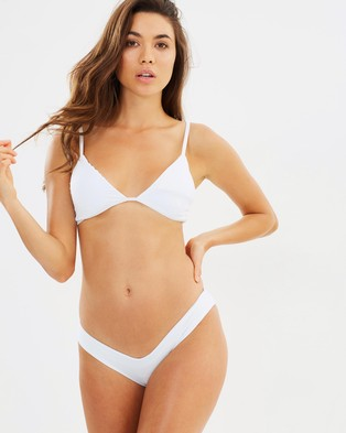 Lioness – The Bella Bikini Set – Bikini Set White