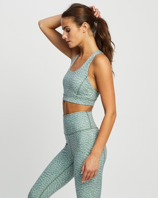 Nimble Activewear Ready For Action II Bra - Sports Bras (River Sage)