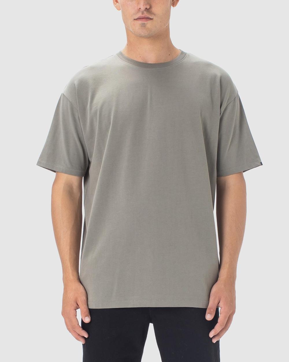 Zanerobe - Box Tee - T-Shirts & Singlets (Dark Moss) Box Tee