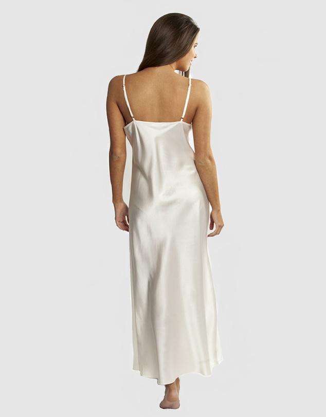 Women Long Silk Slip