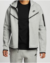 Nike - Sportswear Tech Fleece Full-Zip Hoodie - Men's