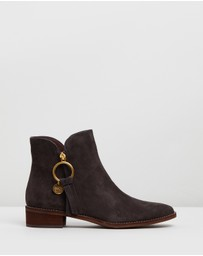 See By Chloé - Louise Flat Ankle Boots