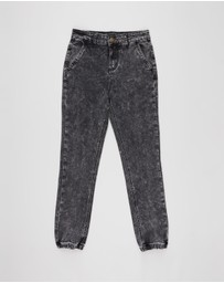 Rock Your Kid - Acid Wash Denim Jeans - Kids-Teens