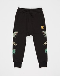 Rock Your Kid - ICONIC EXCLUSIVE - Prehistoric Drop Crotch Track Pants - Kids
