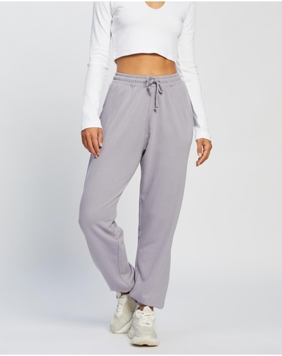 Missguided 90s Oversized Joggers Lilac
