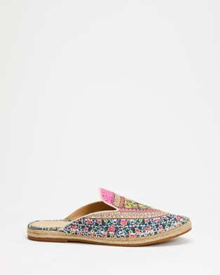 Camilla Espadrille Slippers - Flats (Party In The Palace)