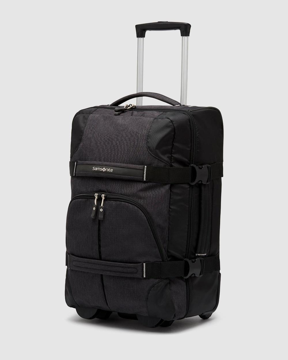 Samsonite Rewind Duffle Wheeled 55cm Bags Black