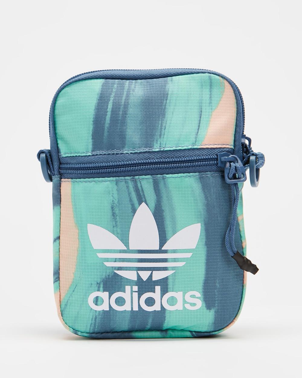 adidas Originals R.Y.V. Festival Bag Bags Vapour Pink, Crew Blue & White