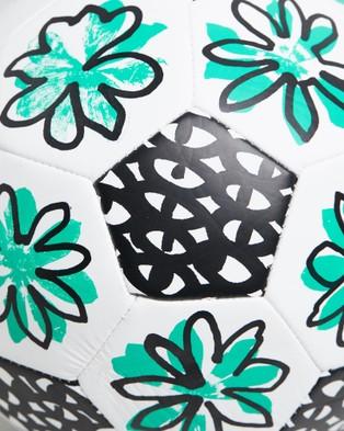 Park PARK x INCU Soccer Ball - All Team Sports (White & Green)
