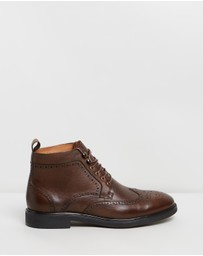 Double Oak Mills - Holland Leather Brogue Boots