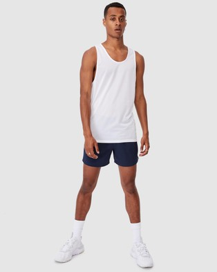 Cotton On Active Tech Tank - Muscle Tops (White)