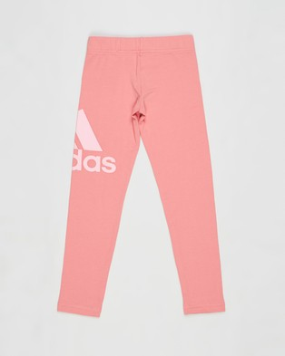 adidas Performance Essentials Tights   Kids Teens - Full Tights (Hazy Rose & Light Pink)