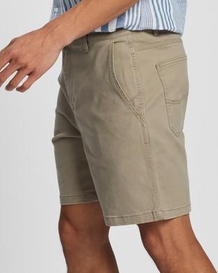 Lee Union Drill Shorts - Chino Shorts (Stone Drill)