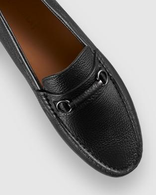 Aquila Maranello Driving Shoes - Dress Shoes (Black)