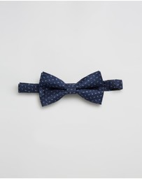 Staple Superior - Micro Paisley Bow Tie
