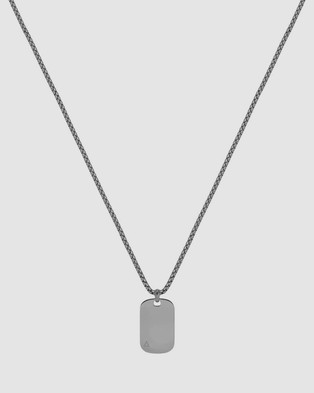 Northskull ID Tag Necklace - Jewellery (Silver)