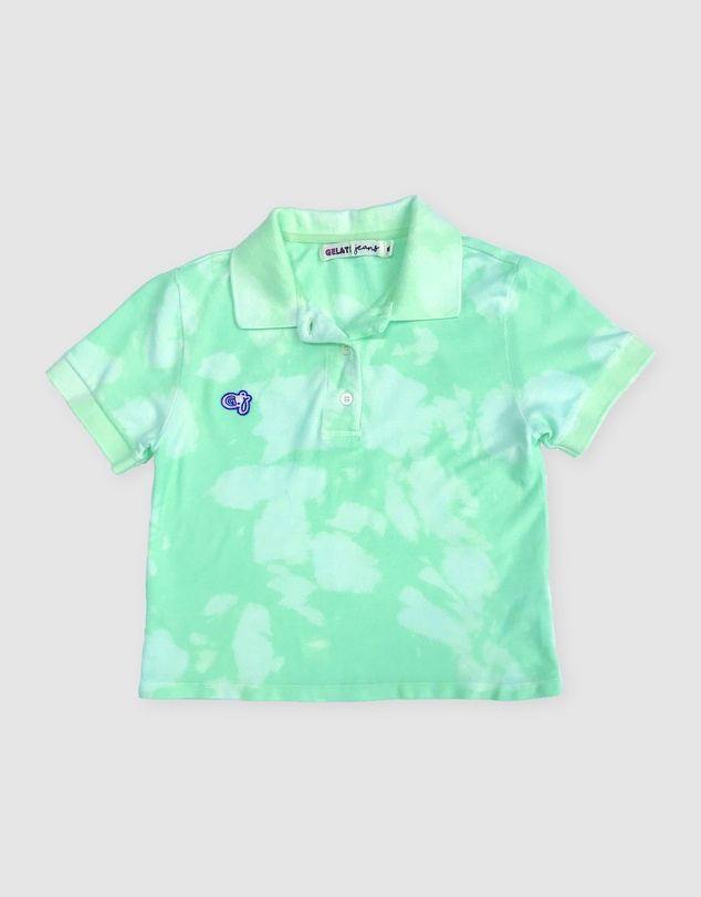 Gelati Jeans Kids - Spearmint Cloud Polo Shirt