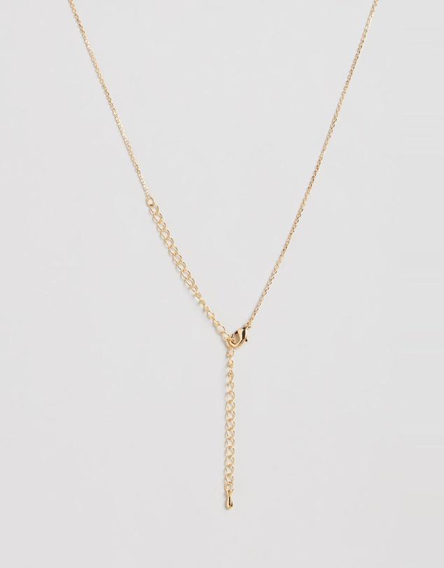 Women Letter Necklace - F