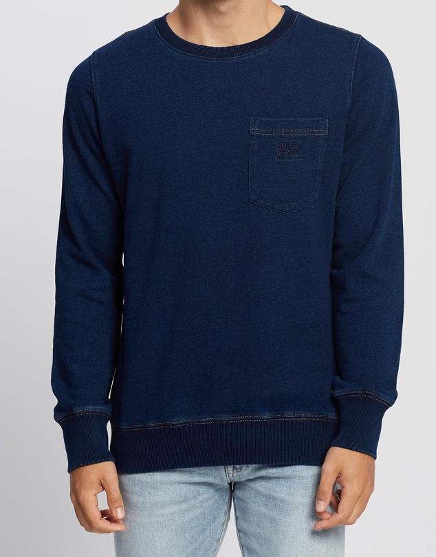 Superdry - Denim Goods Co Crew
