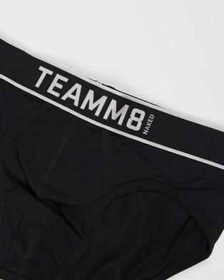 TEAMM8 Naked Briefs 3 Pack - Briefs (Multi)