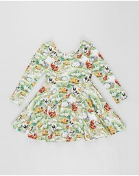 Rock Your Kid - Free Range LS Mabel Dress - Kids